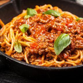 Bolognese med oksekød