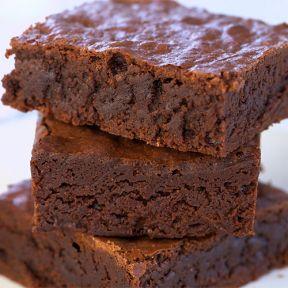 Brownie deep dark chocolate