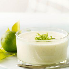 Koldskålsfromage med revet citron
